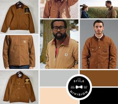 Top 5 Mens Coat Styles to Watch Out For This Winter - Winter Style #1 – Carhartt Detroit Jacket / Chore Coat