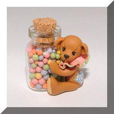 Miniature Sweetie Bear by Manda Theart..