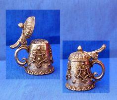 Pewter Thimble Stephen Frost Stein | eBay /  Mar 15, 2014 / GBP 5.50