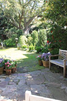 Ms. Whaley's garden, Charleston, SC