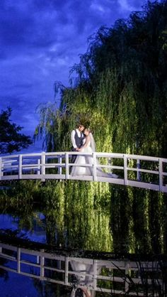 Our Monet inspired bridge is a stunning setting for wedding pictures Lawn Games, On Your Wedding Day, Monet, Wedding Pictures, Wedding Venues, Bridge, Gardens, Inspired, Inspiration