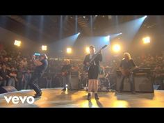 chemin faisant: AC/DC - Rock or Bust (Official Video) Blue Man Group, Music Clips, Music Bands, Dr Who, Rock Music, New Music, Brian Johnson Acdc, Cliff Williams, Ac Dc Rock