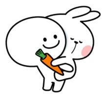 Spoiled Rabbit [Smile Person] – LINE stickers Cute Cartoon Images, Cute Cartoon Characters, Cute Love Cartoons, Cute Cartoon Wallpapers, Cute Bear Drawings, Cute Little Drawings, Rabbit Crafts, Cute Emoji Wallpaper, Cute Love Pictures