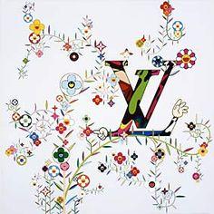 Takashi Murakami. Louis Vuitton Symbol. He did some really fabulous stuff for LV.