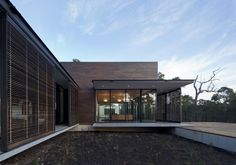 Ingemar - Margaret River Kerry Hill Architects like the moveable louvres Architecture Awards, Residential Architecture, Modern Architecture, Kerry Hill Architects, Famous Architects, Architect Logo, Architect House, Margaret River Wineries, House On A Hill