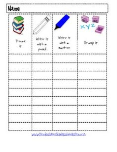 Pocket Full of Kinders!: Centers and Freebies