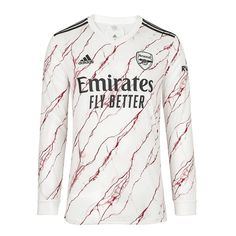 Arsenal 20/21 Away Long Sleeve Soccer Jersey Personalized Name and Num – zorrojersey
