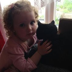 Molly the cat and her friend #BestLovedLife