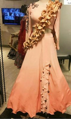 Desi Wedding Dresses, Party Wear Dresses, Ball Gown Dresses, Lehenga Designs, Saree Blouse Designs, Indian Attire, Indian Outfits, Stylish Dresses, Fashion Dresses