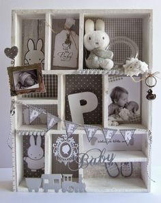 Maps & so Baby Gift Hampers, Baby Hamper, Baby Boy Shower, Baby Shower Gifts, Baby Frame, Diy Baby Gifts, Baby Box, Baby Pictures, Diy For Kids