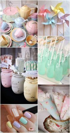 Ideas and Inspiration for your Pastel Wedding. Pastel Wedding Day Styling Inspiration for your Wedding at The Orchard at Chesfield. Wedding Themes, Wedding Events, Wedding Decorations, Pastel Wedding Centerpieces, Easter Wedding Ideas, Pastel Party Decorations, Wedding Receptions, Chic Wedding, Dream Wedding