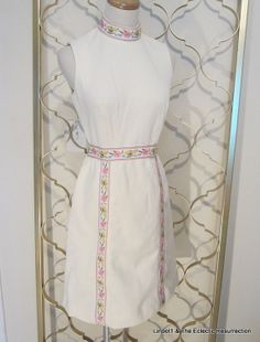 Vintage 1960s Wiggle Dress by Ayers Unlimited Summer by linbot1, $30.00