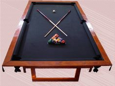 How to Build a Pool Table - Pool Table Plans - Do it Yourself - Homemade Instructions