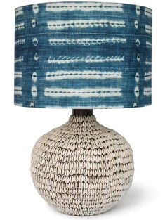 Artisan's hand apply hundreds of individual shells to create an extraordinarily textured tropical look on our South Pacific Cowrie Shell Lamps. The round shell-covered base is topped with a traditional natural linen drum shade, which is available. Best Desk Lamp, Shell Lamp, House Lamp, Bright Homes, Rustic Lamps, Industrial Lamps, Room Lamp, Bed Room, Ceramic Table Lamps
