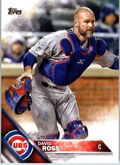 "2016 Topps Series 2 David Ross Chicago Cubs Baseball Card-MINT--""Grandpa Rossie"" -- Lester sure misses him I bet! Chicago Cubs Baseball, Braves Baseball, Baseball Players, Baseball Cards, Baseball 2016, Baseball Series, Cubs Win, Go Cubs Go"