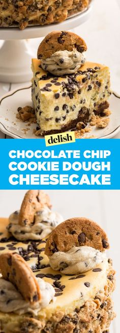 Cookie Dough Cheesecake Will Be The *Mic Drop* Dessert Of Any PartyDelish