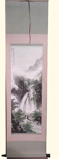 Oriental Furnishings - Asian Silk Scroll: Mountain Waterfall Scene, $91.00 (https://www.orientalfurnishings.com/asian-silk-scroll-mountain-waterfall-scene/)