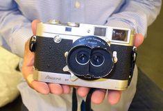Leica M2 with E.Leitz Midland Canada Stemar F3.5 f3.3cm Stereo lens and Leicavit MP