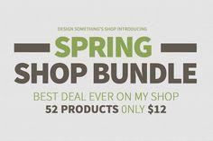 Shop Bundle by DesignSomething on Creative Market