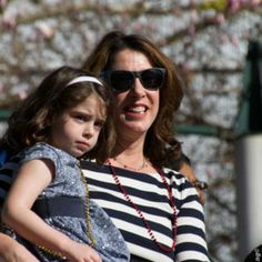 Christine Pelosi and daughter celebrate during the MLK2014 Celebration events.
