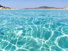 Lagoon of Elafonissi, Crete #Greece