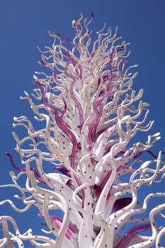 White Tower (detail), 2010, Salk Institute for Biological Studies, La Jolla, Calif., 16 x 6 x 6'