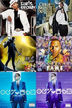 Chris Brown's album history. TeamBreezy
