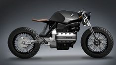 Personal project bmw k 100 cafe racer stile mono seat off road