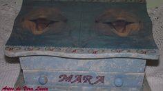 A caixa de madeira que era assim...
