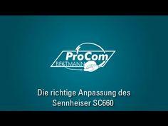 ProCom-Bestmann erklärt: Sennheiser SC660 - die richtige Anpassung - YouTube