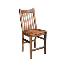 Amish Reclaimed Wood Mission Bar Stool