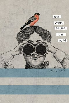 vintage collage art typography print by leprintshoppe on Etsy