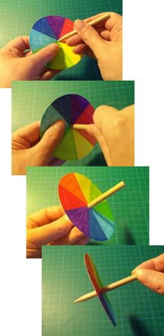 DIY Paper DIY Crafts DIY  Spinning Tops