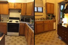 This Is What a $100 Kitchen Makeover Looks Like  - Delish.com