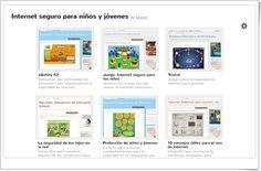 Juegos e información sobre la seguridad en internet para niños y jóvenes.