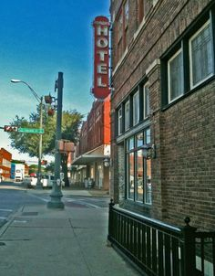 Beautiful photo I took in 2011 of the Rogers Hotel in Waxahachie