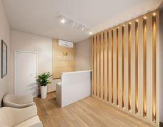 Clinic Interior Design, Small Space Interior Design, Lobby Interior, Clinic Design, Modern Interior Design, Dental Office Decor, Dental Office Design, Modern Small House Design, Modern Office Design