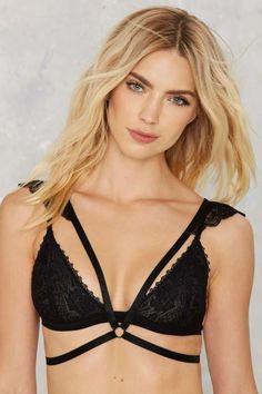 Slap in the Lace Shoulder Harness - Lingerie
