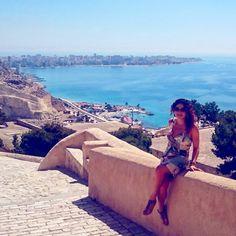 """27 Gostos, 1 Comentários - Occi Rab (@occirab) no Instagram: """"#CastilloSantaBarbara #Alicante #España #Castle #instatravel #traveling #middleage #mar #bluesky…"""""""