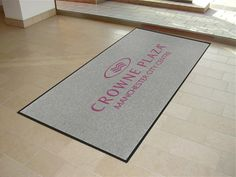 Custom Mats made to the size, design and colour of your choice.  With or without your company logo. Non slip premium rubber border and backing applied to ensure mats stay firmly in place.