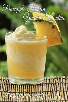 Pineapple Frozen Yogurt Smoothie