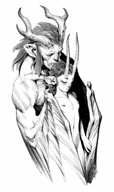 by Andrew Mar Character Concept, Character Art, Concept Art, Dark Fantasy, Fantasy Art, Creature Design, Mythical Creatures, Fantasy Characters, Dark Art