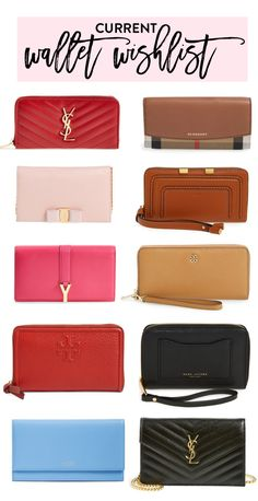 Wallet Wishlist - My