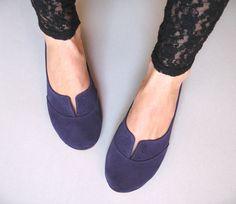 Violetta Leather Handmade Soft Oxfords