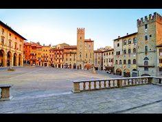 (8) AREZZO (Tuscany-Italy) - TOUR DELLA CITTA' - - YouTube