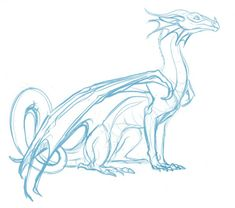 quick doodle of Glory from Wings of Fire colors later Animal Sketches, Animal Drawings, Art Sketches, Dragon Base, Dragon Wing, Dragon Anatomy, Dragon Artwork, Dragon Drawings, Drawings Of Dragons
