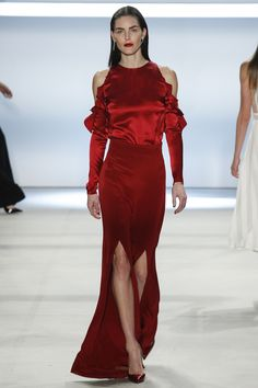 Cushnie et Ochs Fall 2016 Ready-to-Wear Fashion Show - Hilary Rhoda