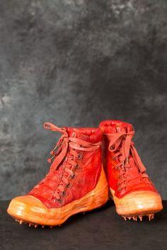 CAROL CHRISTIAN POELL – Noseam Drip-Rubber Sneakers   PNP-firenze  #ccp #carolchristianpoell #pnpfirenze