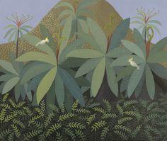 Anne Marie Graham Moving To Australia, Tropical Art, Studio Art, Balcony Garden, Art Studios, Plant Leaves, Gardens, Illustration