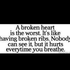 A Broken Heart...